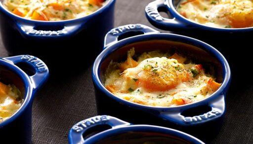 cocotte huevos con calabaza