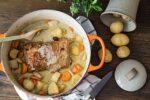 Lomo de cerdo al vinagre de manzana