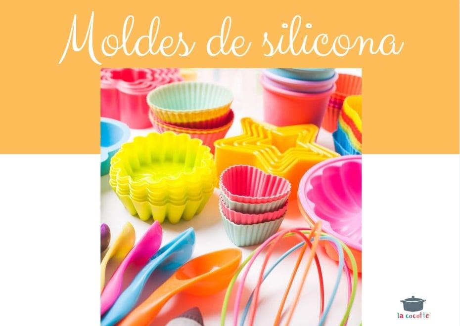 Molde de silicona para tartas de chocolate dise/ño de cola de sirena 4 unidades