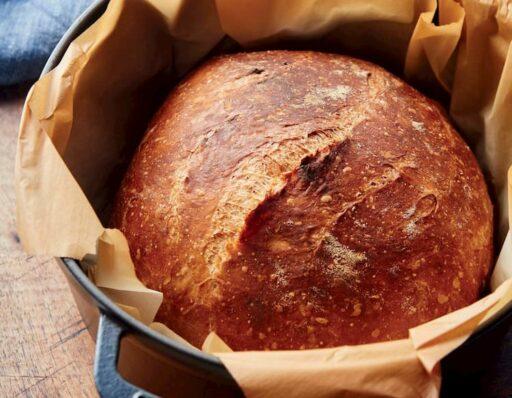 pan casero en cocotte y horno