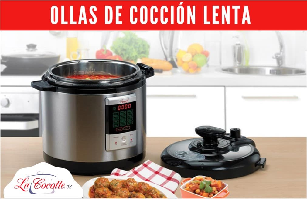 ollas de coccion lenta slow cook