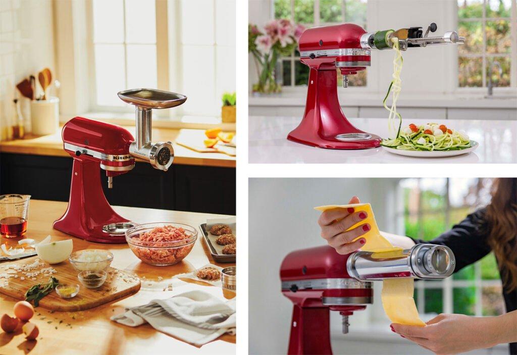 kitchenaid-mini accesorios opcionales.