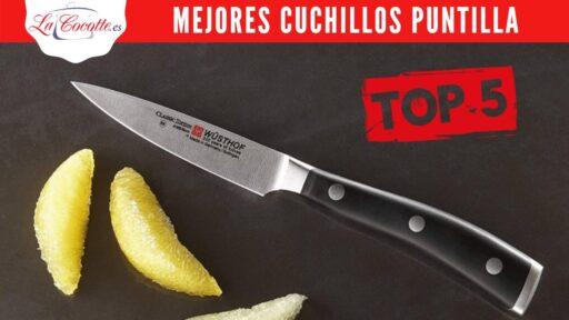 mejores cuchillos puntilla peladores