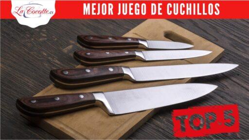 set de cuchillos profesional