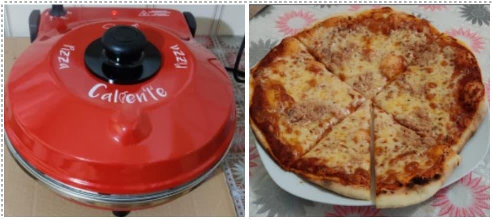 El resultado de nuestra prueba nos dio una pizza perfecta y crujiente.