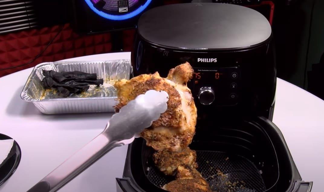 pollo philips airfryer